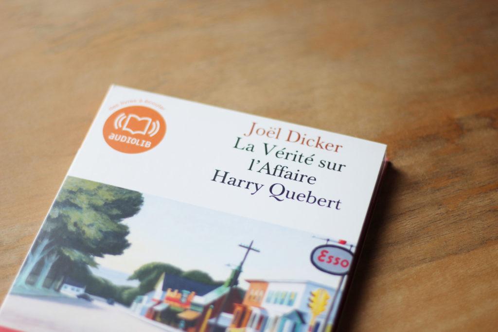 La Vérité sur l'Affaire Harry Quebert, livre audio