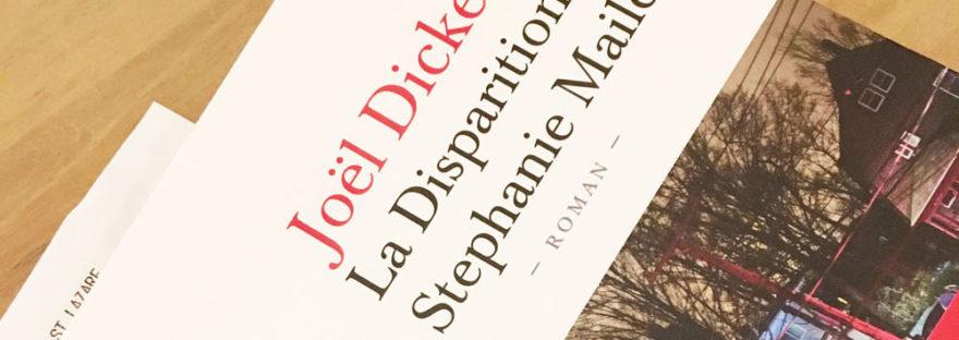 Le nouveau roman de Joël Dicker