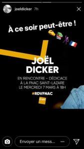 Rendez-vous à la Fnac pour voir Joël Dicker