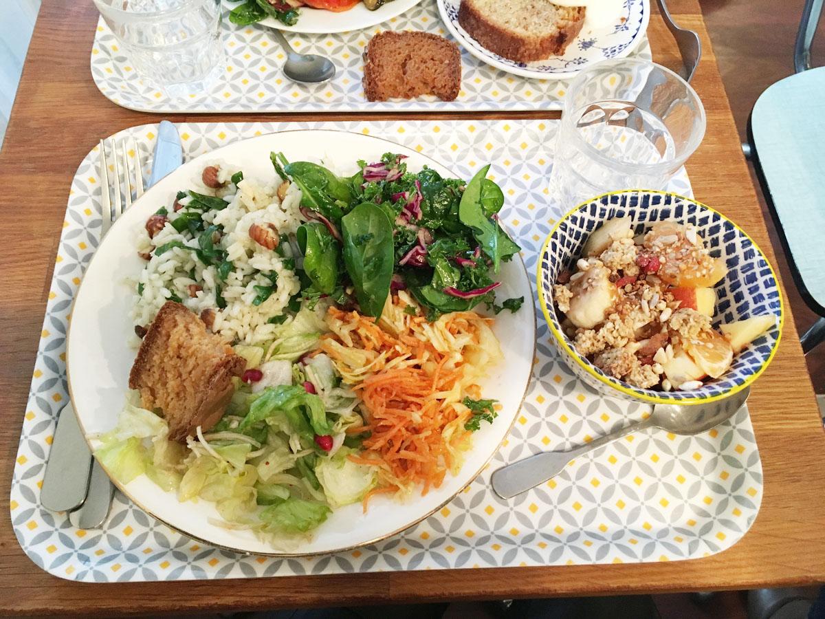 Déjeuner à la cantine italienne et sans gluten Manicaretti, rue Paradis
