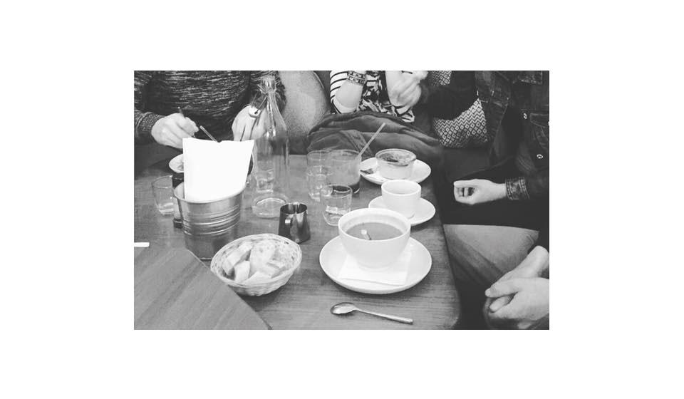 Au Café Pinson Poissonnière entre amis