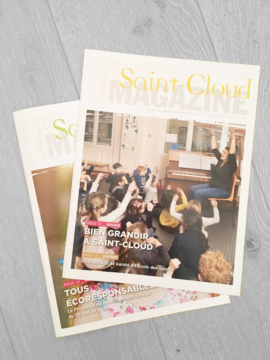 Magazines de la ville de Saint-Cloud