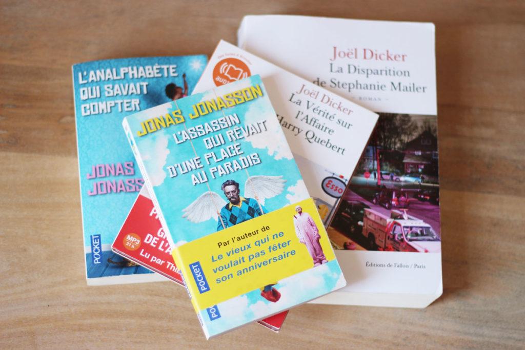 Livres de Jonas Jonasson et Joël Dicker