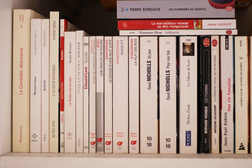 Quelques titres de livres à propos de théâtre et d'oeuvres théâtrales